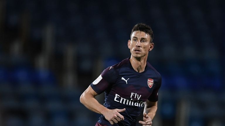 Koscielny returned in December after seven months out with an Achilles injury