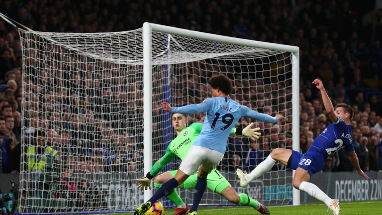 Sane could not save Manchester City from defeat at Chelsea