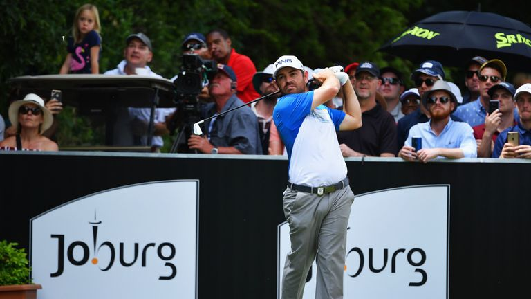 Oosthuizen recovered from a nervy start on the final day
