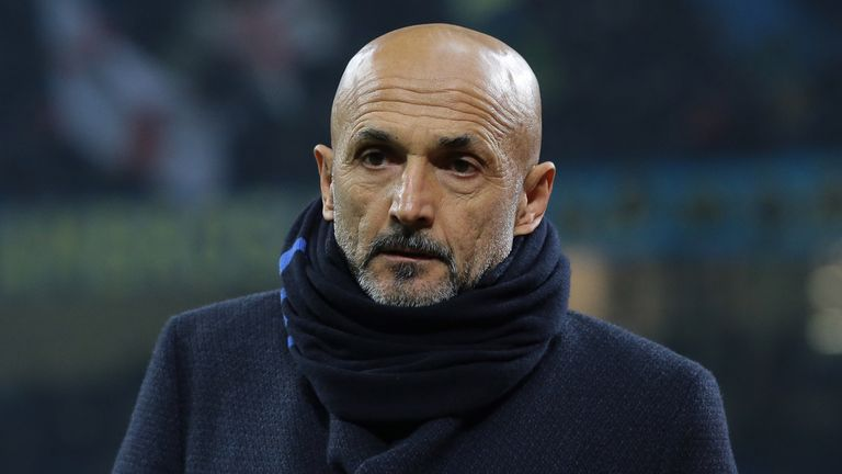 Luciano Spalletti is set to depart the San Siro at the end of the season