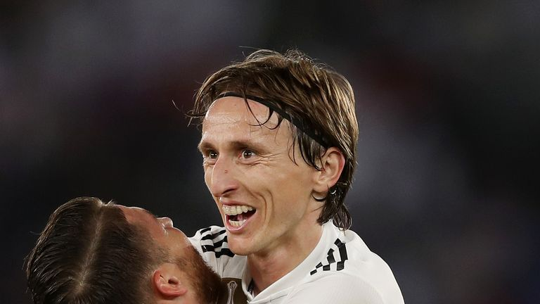 Luka Modric is being chased by Inter Milan