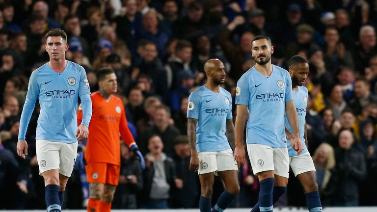 Manchester City are now a point behind new league leaders Liverpool