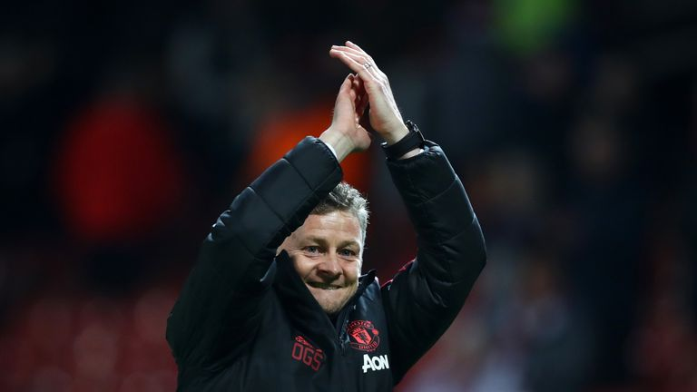 Ole Gunnar Solskjaer is looking for a third straight win as Manchester United interim manager