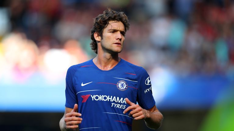 Marcos Alonso has a back injury