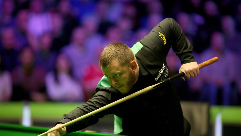 Mark Allen was appearing in his second 'triple crown' final of the year after winning this year's Masters in January