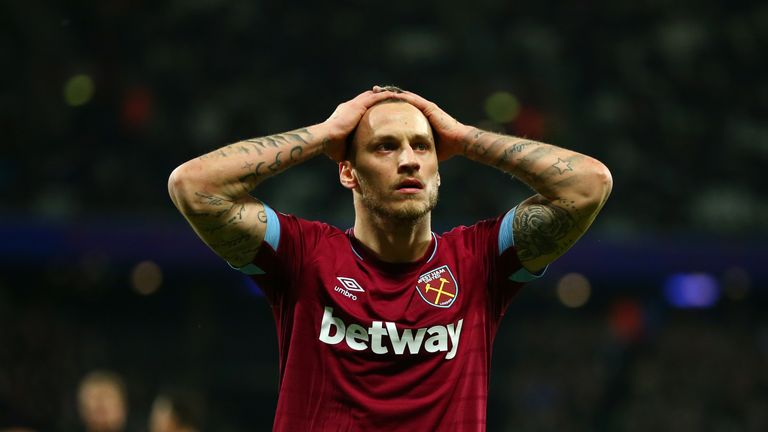 Marko Arnautovic faces a month out with injury