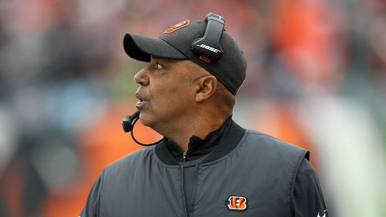 Cincinnati finished the season with a 6-10 record and bottom of AFC North under Marvin Lewis