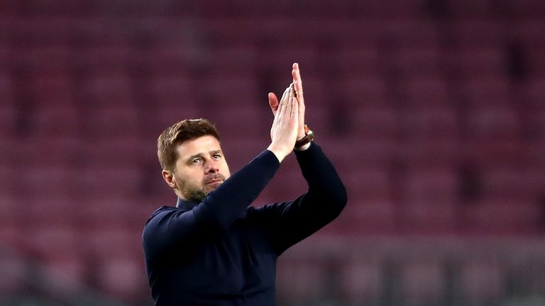 during the UEFA Champions League Group B match between FC Barcelona and Tottenham Hotspur at Camp Nou on December 11, 2018 in Barcelona, Spain.