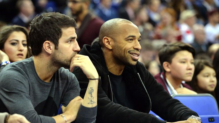 Cesc Fabregas is set to be reunited with Thierry Henry at Monaco
