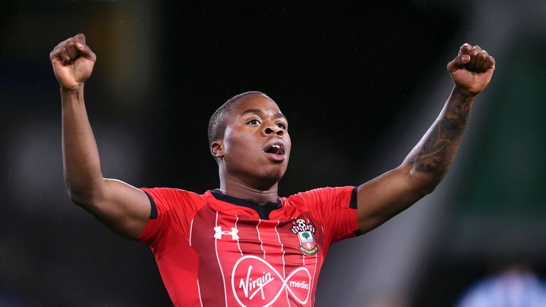 Michael Obafemi will be looking to make an impact at the Emirates after signing a new contract this week
