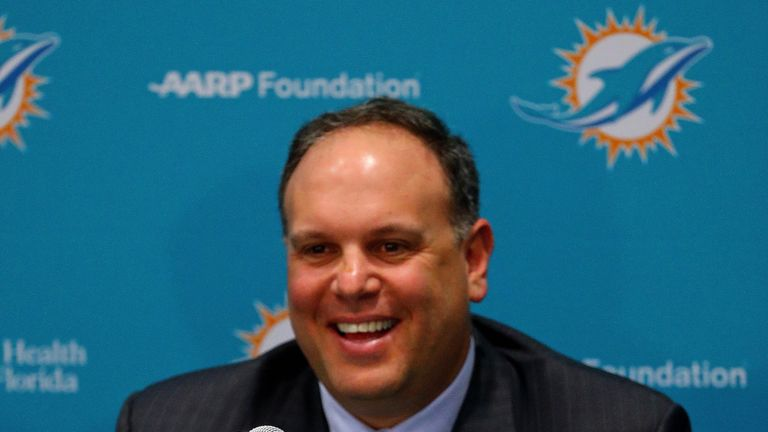 The Miami Dolphins are moving on from Mike Tannenbaum