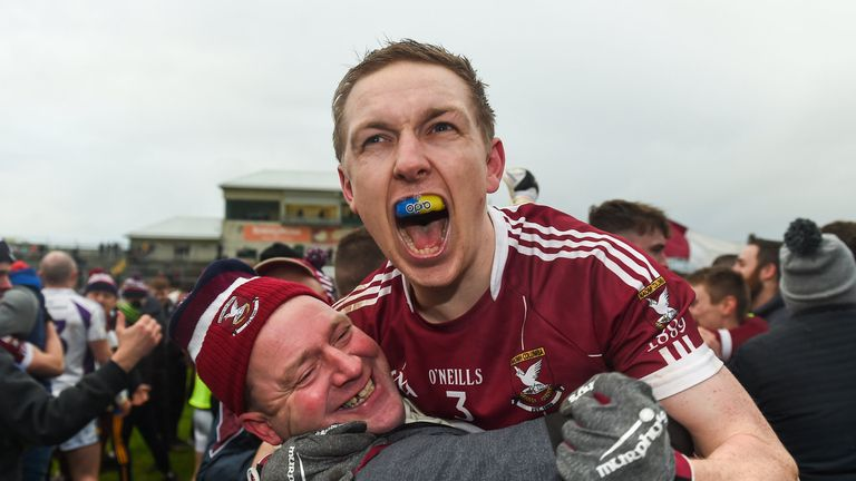 There were joyous scenes at full-time after Mullinalaghta shocked Kilmacud Crokes