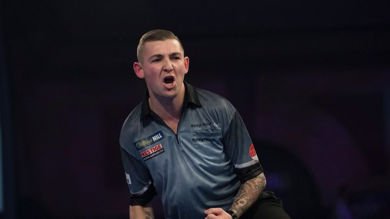 Nathan Aspinall has been playing incredible darts