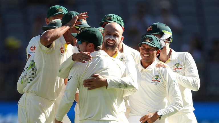 Australia v India: second Test, day four