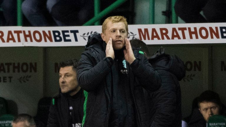 Neil Lennon left Hibs by mutual consent in January