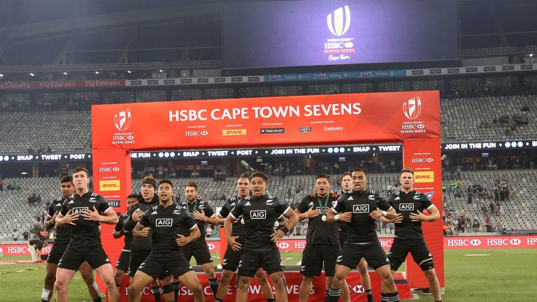 New Zealand are the defending Cape Town Sevens champions