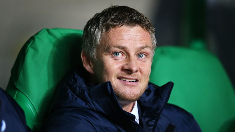 Ole Gunnar Solskjaer was named as Man Utd caretaker manager on Wednesday