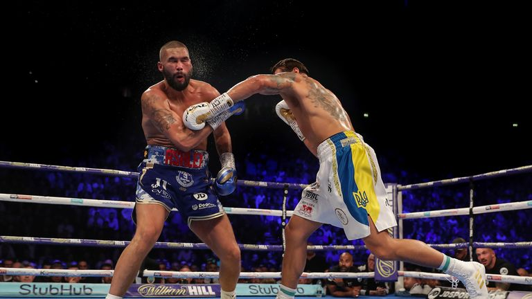 Oleksandr Usyk beat Tony Bellew last year