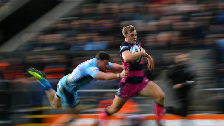 Ollie Thorley was superb for Gloucester against Exeter