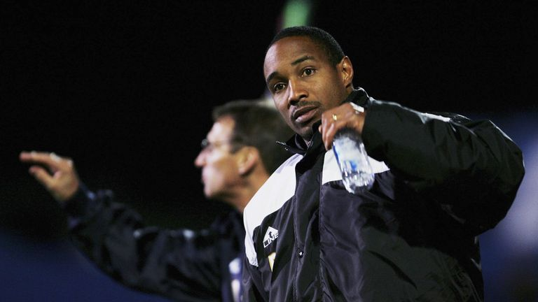 Paul Ince's first managerial job was in charge of Macclesfield