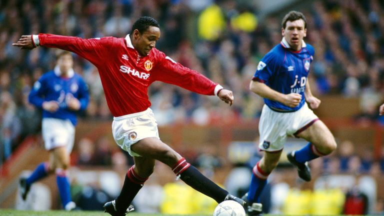 Ince joined Man Utd from West Ham in 1989 and won two league titles