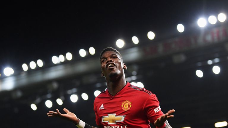 Pogba was stripped of the club vice-captaincy under Mourinho