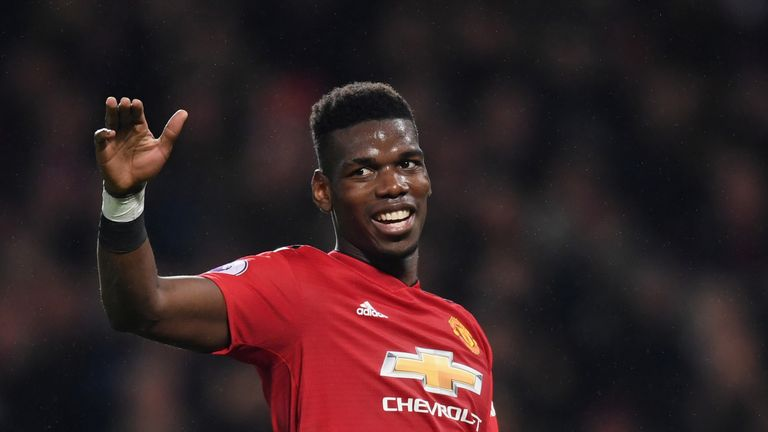 Paul Pogba has directly contributed to seven goals in four games