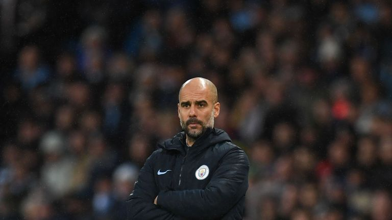 Pep Guardiola has watched Man City lose three Premier League matches in December