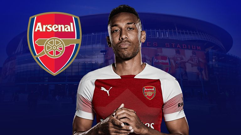 Pierre-Emerick Aubameyang is in spectacular form for Arsenal right now