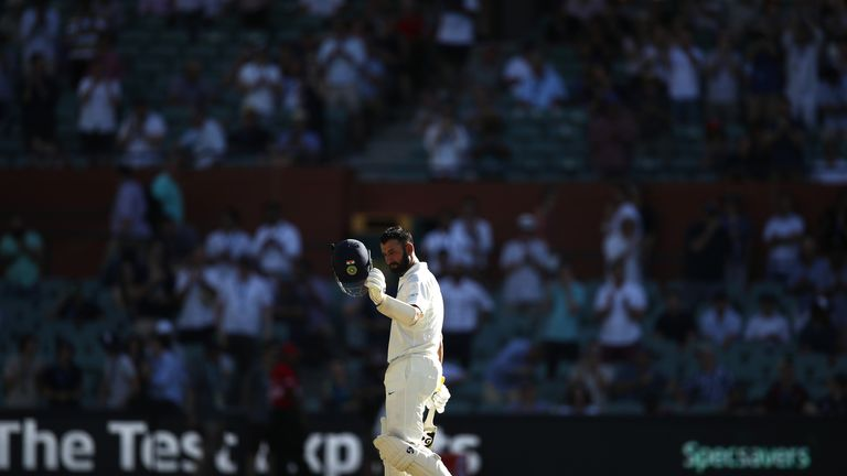 Australia v India in the first Test at Adelaide Oval