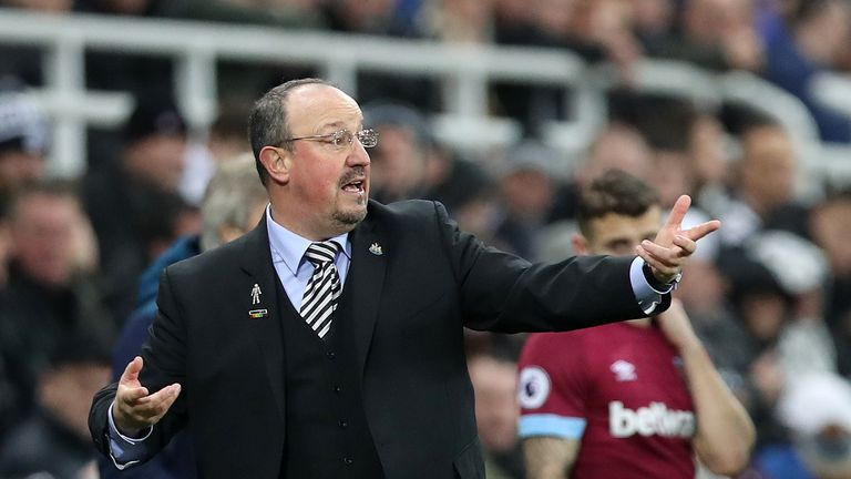 Rafa Benitez says it's business as usual at Newcastle