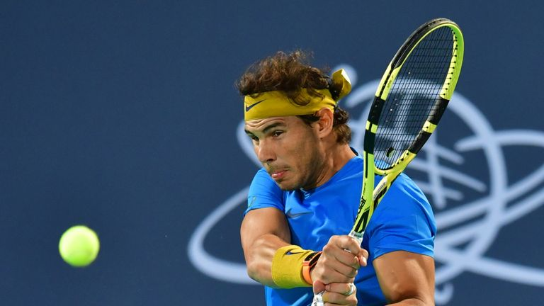 Rafael Nadal could potentially meet Murray in the semi-finals