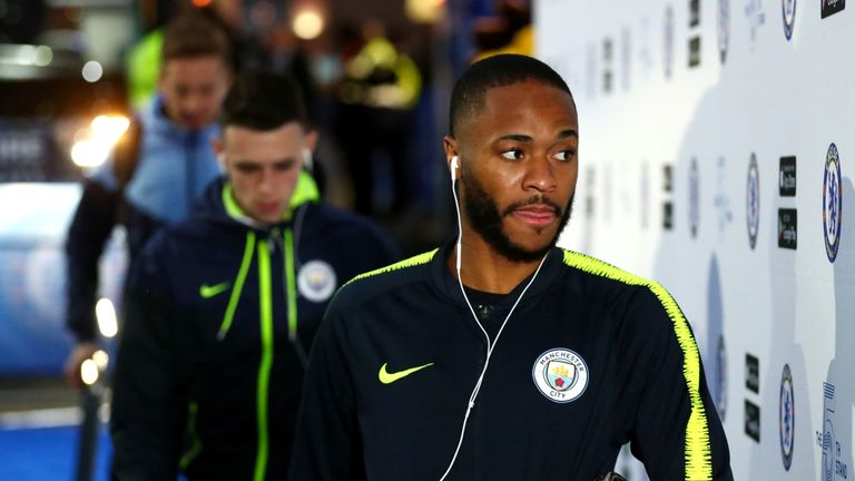 Sterling has released a statement after alleged racist abuse