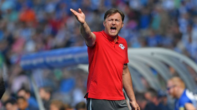 Hasenhuttl guided RB Leipzig to a second-place finish in the Bundesliga