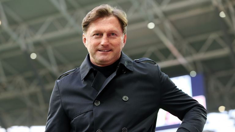 Ralph Hasenhuttl takes charge of Southampton for the first time against Cardiff
