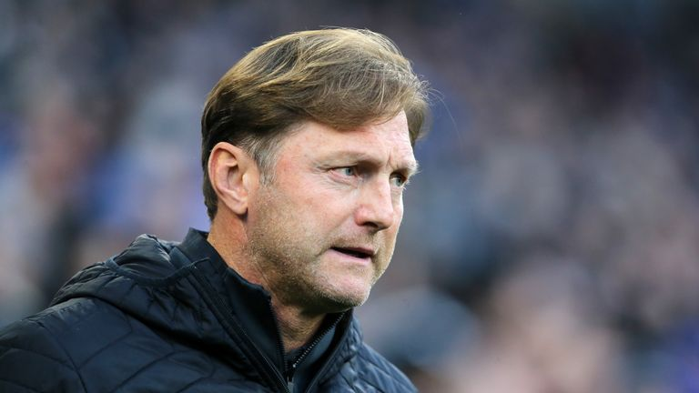 Southampton manager Ralph Hasenhuttl has led his side out of the relegation zone