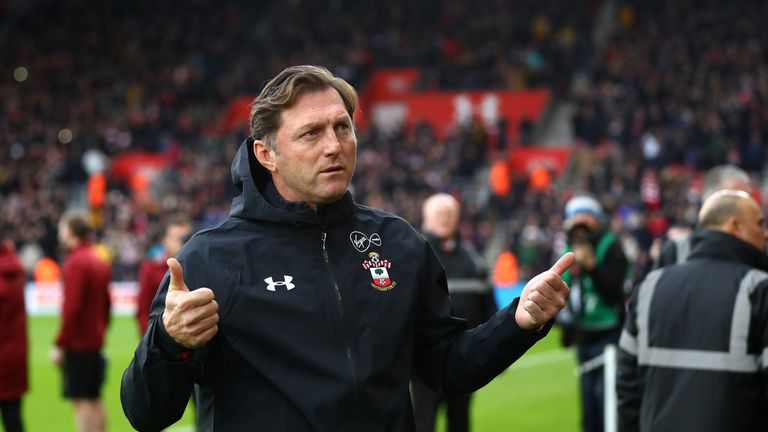 Ralph Hasenhuttl got off the mark with Southampton last weekend