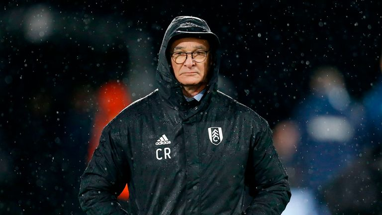 Ranieri has won just once since taking charge in November
