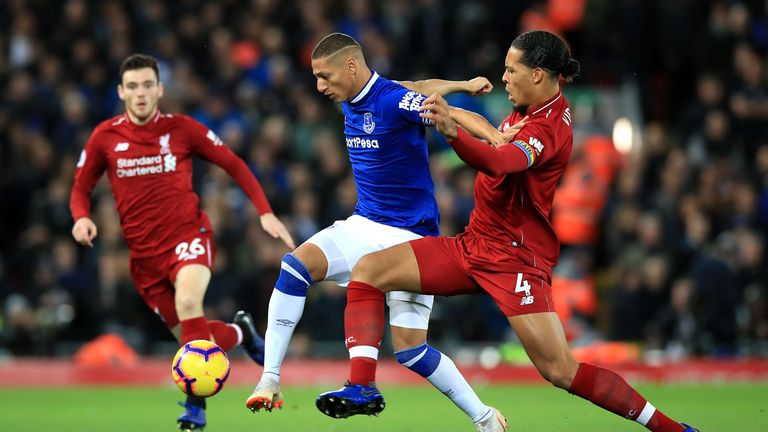 Virgil van Dijk leads a number of statistics for Liverpool defensively, but averages under one tackle per 90 minutes in the Premier League this season