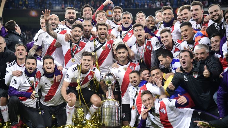 River Plate secured the Copa Libertadores for the fourth time in their history