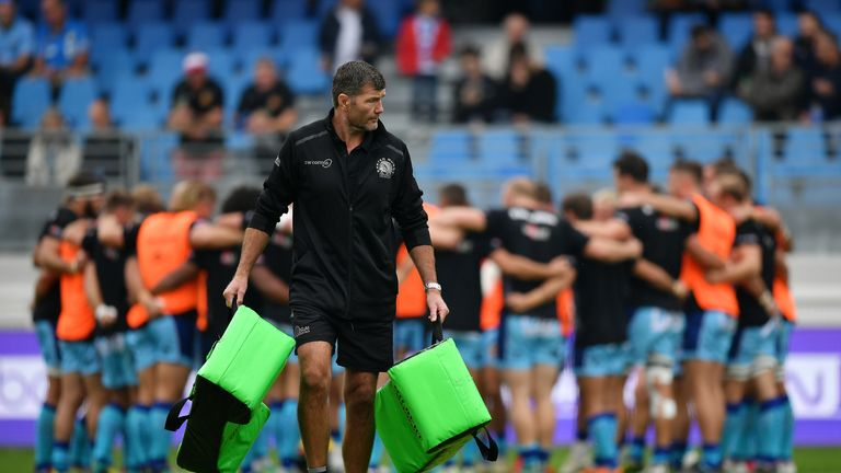Exeter's Rob Baxter