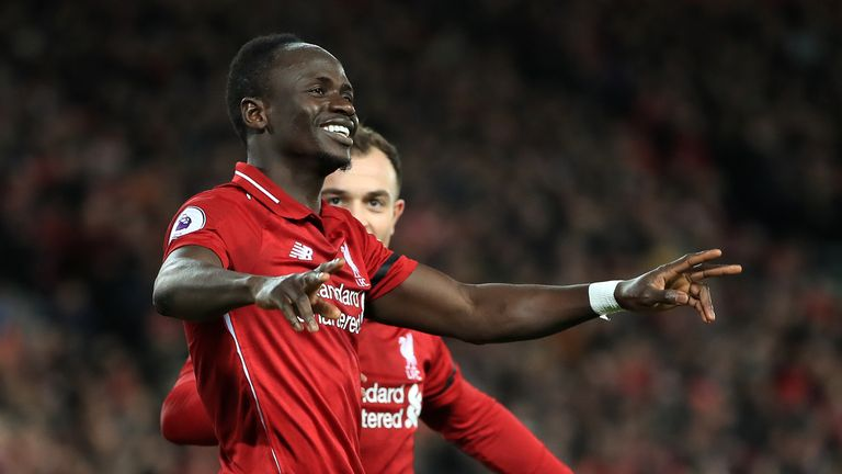 Sadio Mane says his Liverpool future was never in doubt