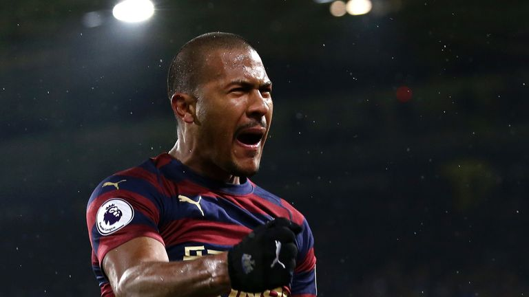 Salomon Rondon scored Newcastle's winner at Huddersfield