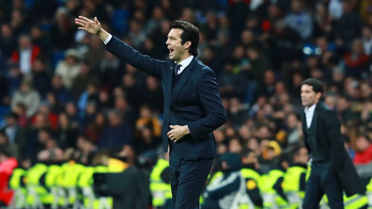 Real Madrid have won six of their last seven games under Santiago Solari