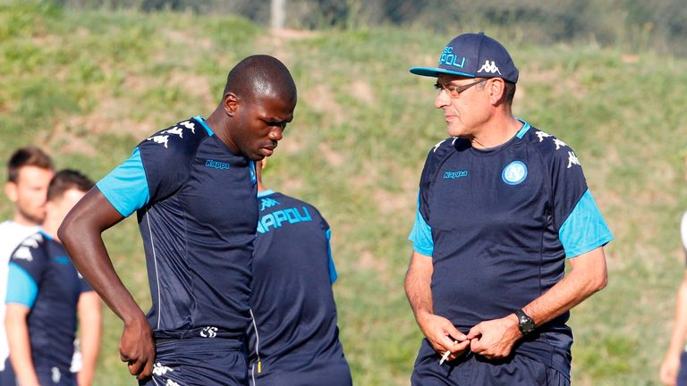 Kalidou Koulibaly improved under Maurizio Sarri