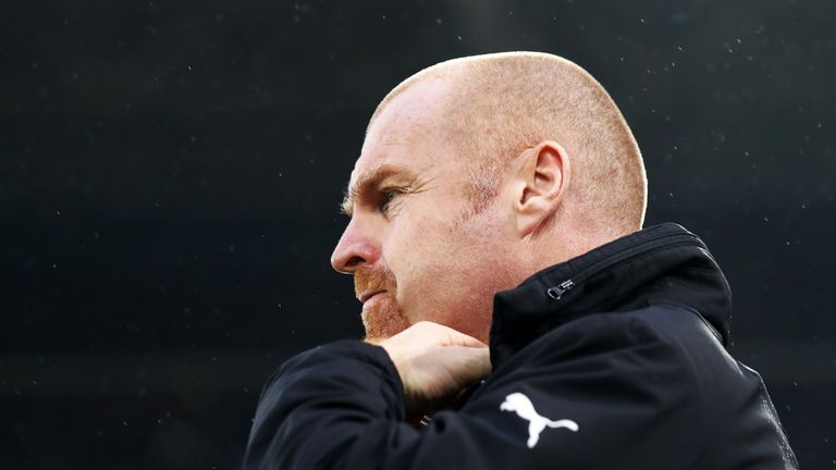 Sean Dyche takes charge of Burnley for the 300th time this weekend