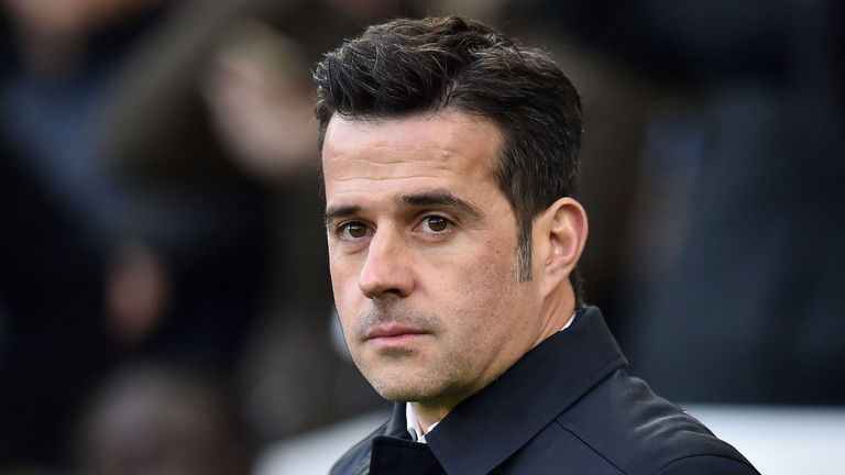 Everton manager Marco Silva is coming under pressure