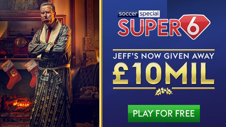 Jeff Stelling has more money to give away - play Super 6 to win!
