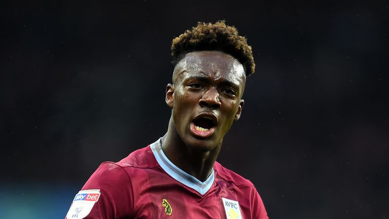 Tammy Abraham could play his last game for Aston Villa on Saturday