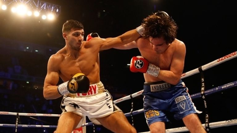 Tommy Fury made his professional debut with a shut-out success